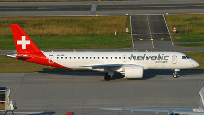 HB-AZB - Embraer 190-300STD - Helvetic Airways