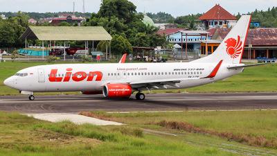 PK-LOR - Boeing 737-8GP - Lion Air