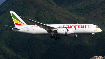 A picture of ETAOU - Boeing 7878 Dreamliner - Ethiopian Airlines - © Adrian Tong