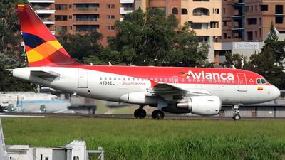 N598EL - Airbus A318-111 - Avianca