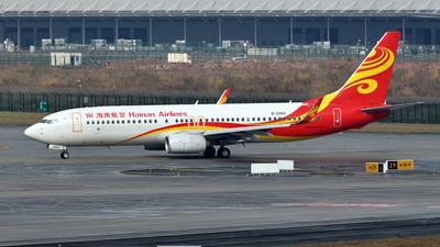 B-206G - Boeing 737-84P - Hainan Airlines