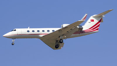 TC-GVB - Gulfstream G-IV - Turkey - Government