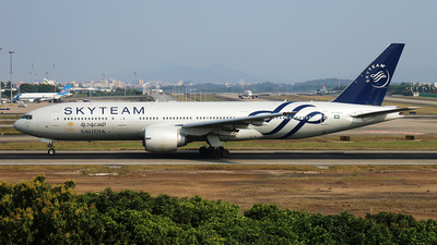 A picture of HZAKA - Boeing 777268(ER) - [28344] - © JiaMing Mai . Kent