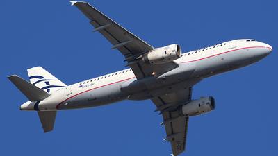 SX-DVX - Airbus A320-232 - Aegean Airlines