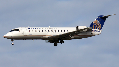 N412AW - Bombardier CRJ-200LR - United Express (Air Wisconsin)