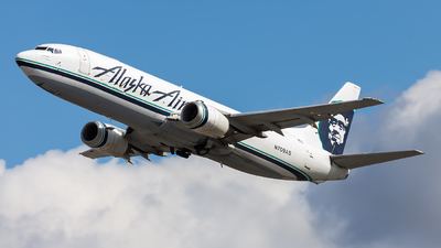 N709AS - Boeing 737-490(SF) - Alaska Air Cargo