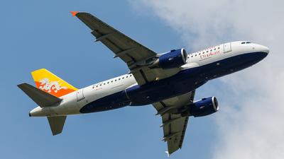 A5-RGG - Airbus A319-115 - Druk Air - Royal Bhutan Airlines