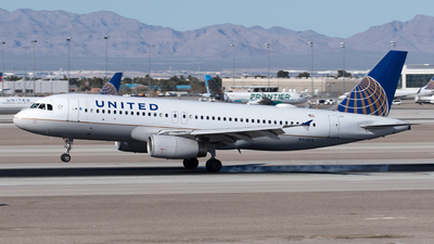 A picture of N439UA - Airbus A320232 - United Airlines - © Yixin Chen