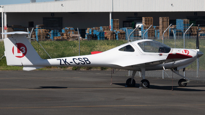 ZK-CSB - Diamond DA-20-C1 Eclipse - L3 Airline Academy