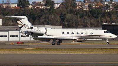 VP-CAT - Gulfstream G550 - Private