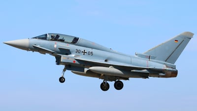 30-05 - Eurofighter Typhoon EF2000(T) - Germany - Air Force