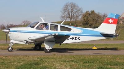 HB-KDK - Beechcraft F33A Bonanza - Private