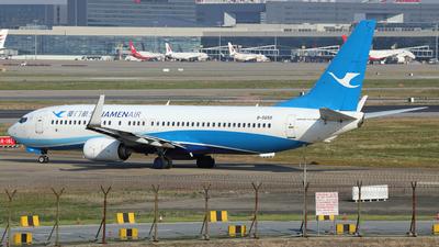 A picture of B5655 - Boeing 73785C - Xiamen Air - © Ken Chen