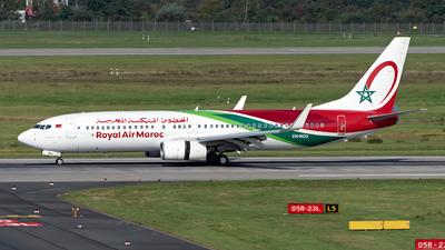 CN-ROU - Boeing 737-8B6 - Royal Air Maroc (RAM)
