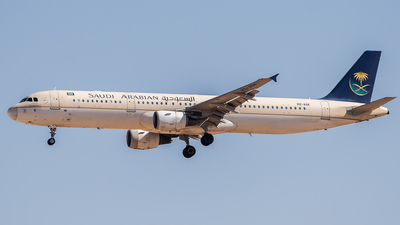 A picture of HZASK - Airbus A321211 - Saudia - © AirlinerSpotter