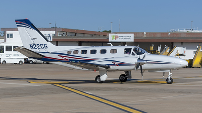 N22CG - Cessna 441 Conquest II - Private