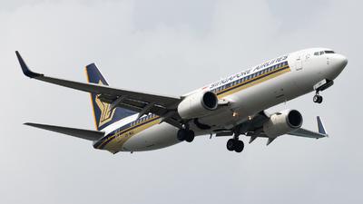 9V-MGD - Boeing 737-8SA - Singapore Airlines