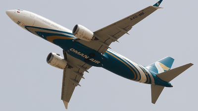 A picture of A4OMB - Boeing 737 MAX 8 - Oman Air - © Oleksiy Naumov