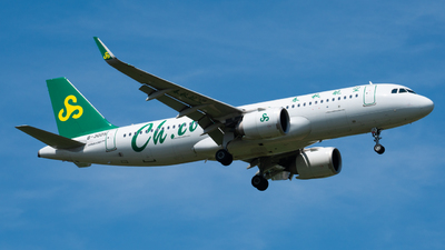 A picture of B30D5 - Airbus A320251N - Spring Airlines - © PENCIL202_
