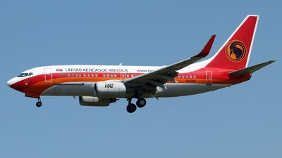 A picture of D2TBK - Boeing 7377HB(QC) - TAAG Angola Airlines - © Timothy Brandt