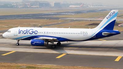 VT-IHJ - Airbus A320-232 - IndiGo Airlines