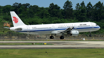 B-6599 - Airbus A321-213 - Air China