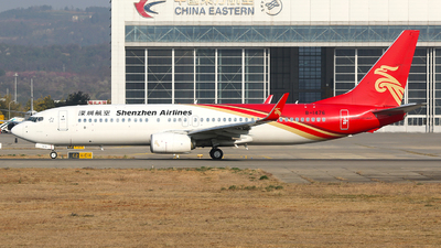 A picture of B1476 - Boeing 73787L - Shenzhen Airlines - © SEN BAI