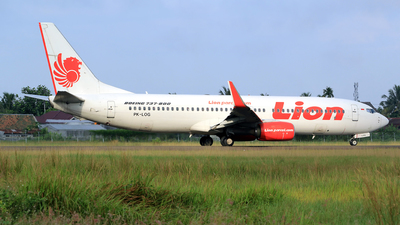 PK-LOG - Boeing 737-8GP - Lion Airlines