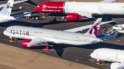 A picture of A7BHI - Boeing 7879 Dreamliner - Qatar Airways - © David Lee