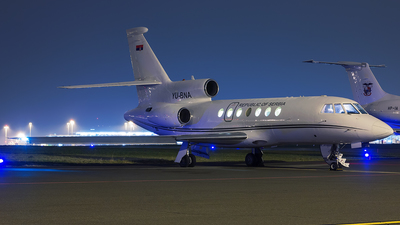 YU-BNA - Dassault Falcon 50 - Serbia - Air Force