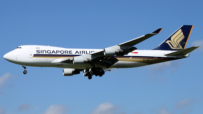 9V-SFF - Boeing 747-412F(SCD) - Singapore Airlines Cargo