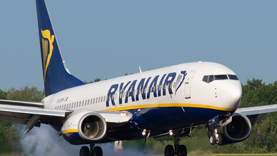 EI-EVM - Boeing 737-8AS - Ryanair
