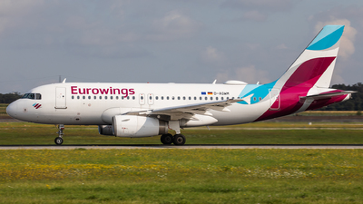 A picture of DAGWM - Airbus A319132 - Eurowings - © Oliver Sänger