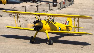 C-FAIU - Boeing A75N1 Stearman - Canada - Royal Canadian Air Force (RCAF)