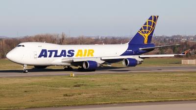 A picture of N487MC - Boeing 74745EF - Atlas Air - © Jakob Studemund