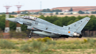 CE.16-06 - Eurofighter Typhoon EF2000(T) - Spain - Air Force