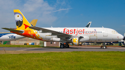 5H-FJC - Airbus A319-112 - Fastjet