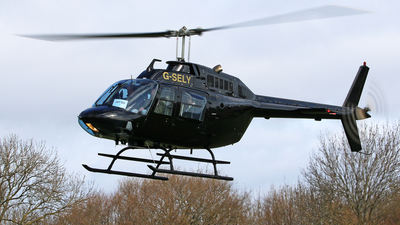 G-SELY - Agusta-Bell AB-206B JetRanger II - Private