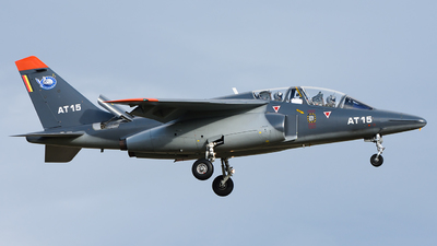 AT-15 - Dassault-Breguet-Dornier Alpha Jet 1B+ - Belgium - Air Force
