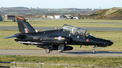 ZK037 - British Aerospace Hawk T.2 - United Kingdom - Royal Air Force (RAF)