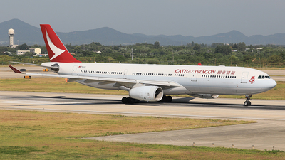 B-HLE - Airbus A330-342 - Cathay Dragon
