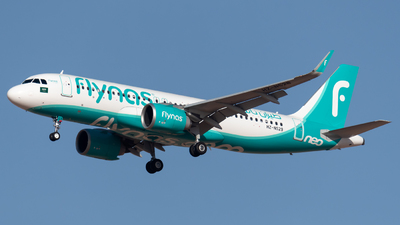 A picture of HZNS29 - Airbus A320251N - Flynas - © AirlinerSpotter