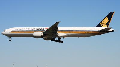9V-SWP - Boeing 777-312ER - Singapore Airlines