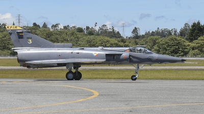FAC3058 - IAI Kfir C12 - Colombia - Air Force