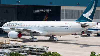 A picture of BLAK - Airbus A330343 - Cathay Pacific - © CHenFeng_XMN