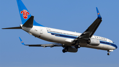 B-1718 - Boeing 737-81B - China Southern Airlines
