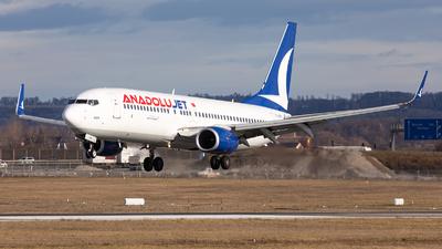 TC-JFH - Boeing 737-8F2 - AnadoluJet