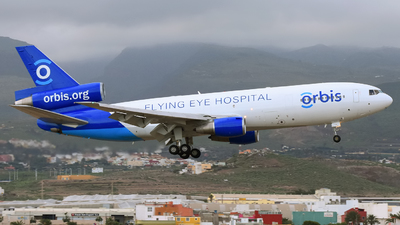 N330AU - McDonnell Douglas MD-10-30(F) - ORBIS Flying Eye Hospital