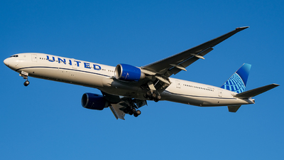 A picture of N2352U - Boeing 777300(ER) - United Airlines - © Predic. LXY!