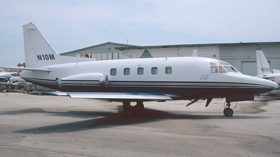 N10M - Rockwell Sabreliner 75A - Private